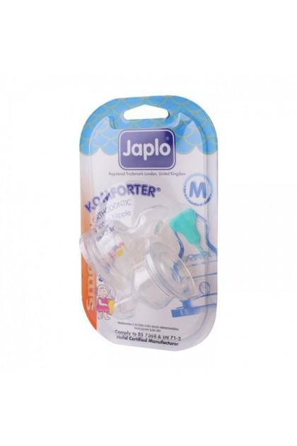 JAPLO KOMFORTER ORTHODONTIC NIPPLE TEAT (2PCS) - SMALL M