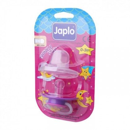 JAPLO PACIFIER SOOTHER TWINKLE STAR WITH NIGHT GROWTH HANDLE - NEWBORN