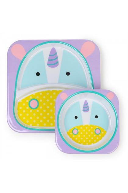 Skip Hop - Zoo Tableware Melamine Set - Unicorn