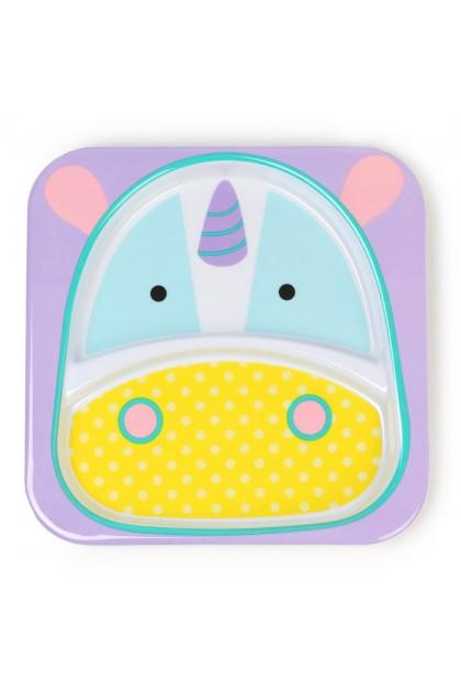 Skip Hop - Zoo Tableware - Plate - Unicorn