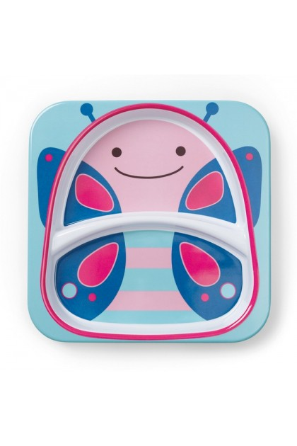 Skip Hop - Zoo Tableware - Plate - Butterfly