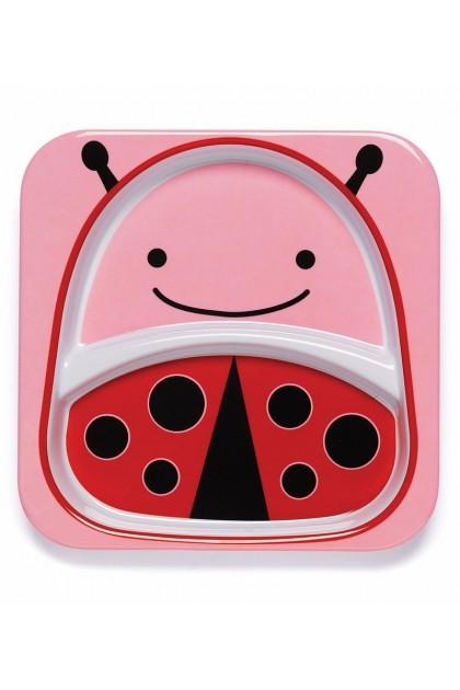 Skip Hop - Zoo Tableware - Plate - Ladybug