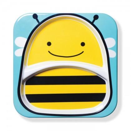 Skip Hop - Zoo Tableware - Plate - Bee