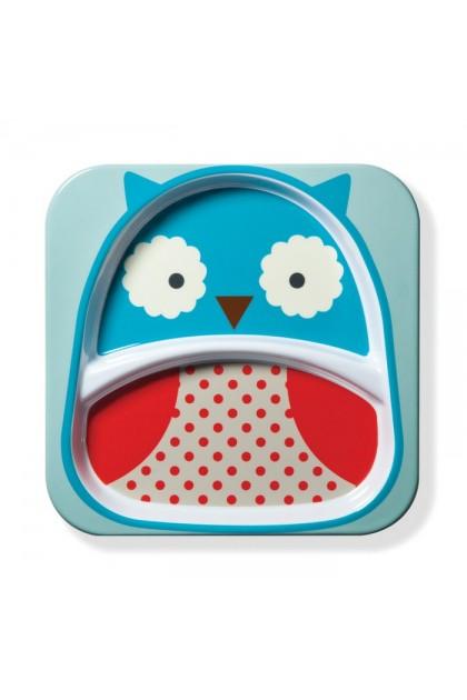 Skip Hop - Zoo Tableware - Plate - Owl