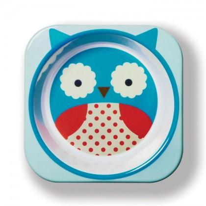 Skip Hop - Zoo Tableware - Bowl - Owl