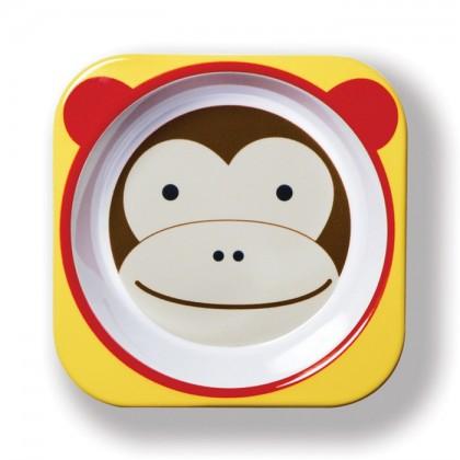 Skip Hop - Zoo Tableware - Bowl - Monkey
