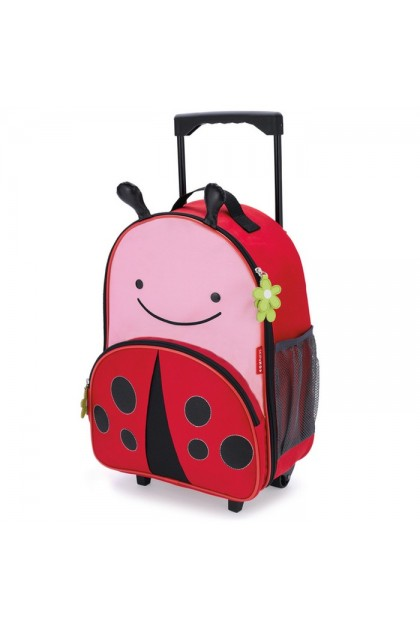 Skip Hop - Zoo Kid Rolling Luggage - Ladybug