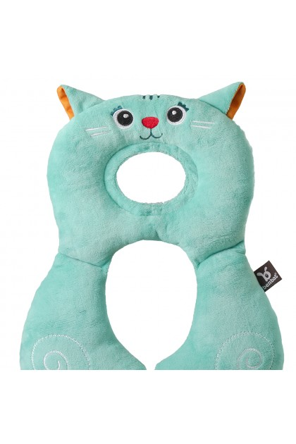 Benbat - Travel Friends Total Support Headrest 1-4Years - Cat
