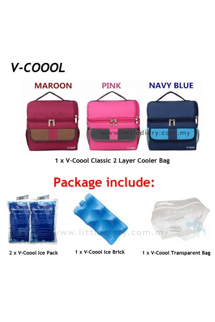 V-Coool Classic 2 Layer Cooler Bag Package
