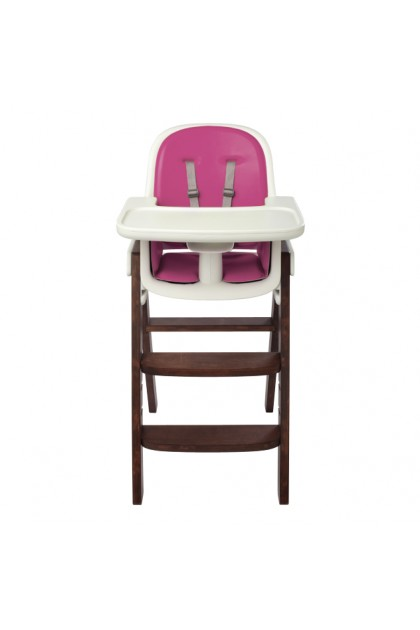 OXO TOT - Sprout High Chair - Pink/Walnut
