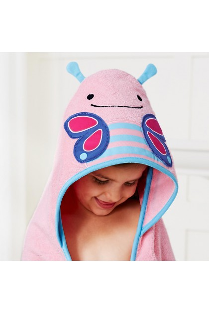 Skip Hop - Zoo Hooded Towel - Butterfly