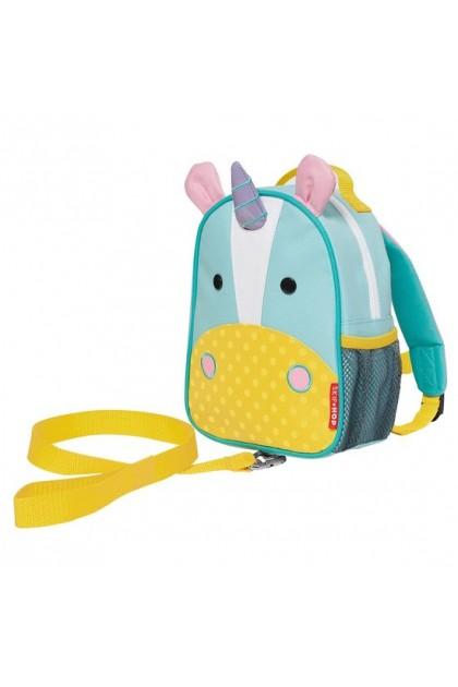 Skip Hop Zoo Let Mini Backpack With Rein - Unicorn