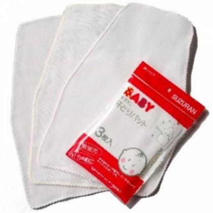 Suzuran Baby Gauze Sweat Pad 3pcs