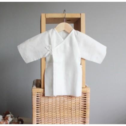 Suzuran Baby Gauze Undershirt (Short) 2pcs