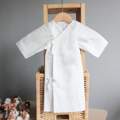 Suzuran Baby Gauze Undershirt (Long) 2pcs