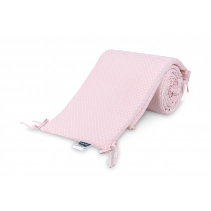 Comfy Baby - Cot Bumper Set - Pink Dots