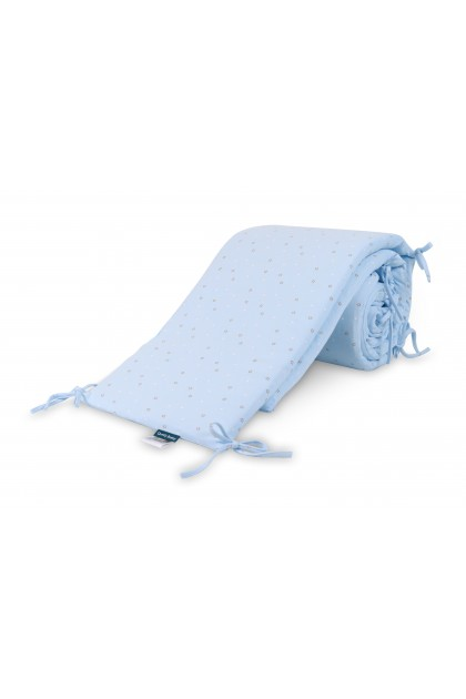 Comfy Baby - Cot Bumper 2pcs Set - Blue Star