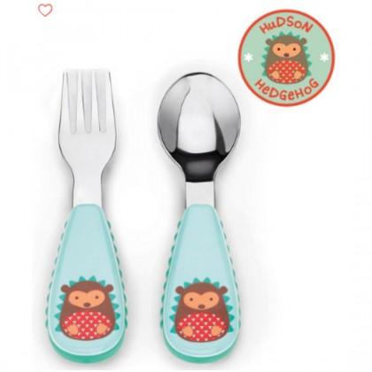 Skip Hop Zootensils Fork & Spoon - Hedgehog