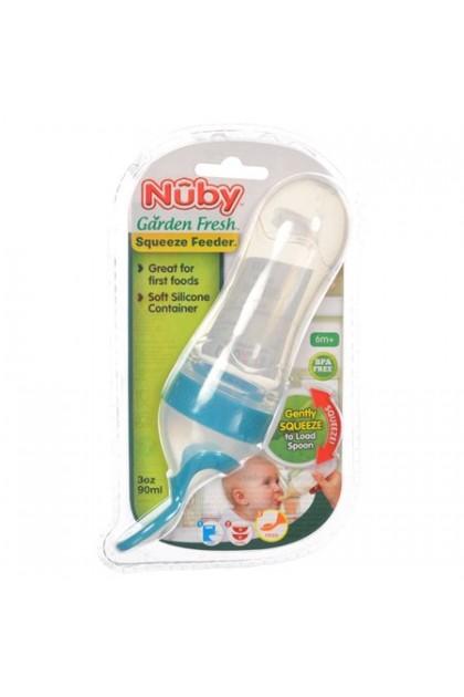 Nuby Garden Fresh Squeeze Feeder 3oz