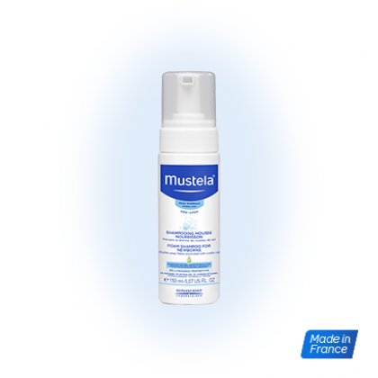 Mustela Bebe Foam Shampoo For Newborns 150ml (EXP: 03/2021)