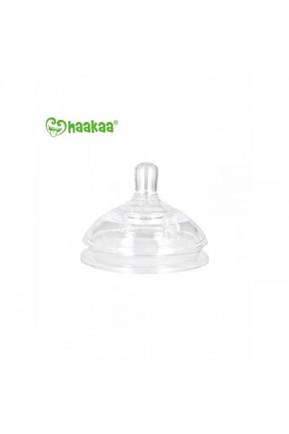 Haakaa Gen.3 Silicone Bottle Anti-Colic Nipple - M (2 pcs)