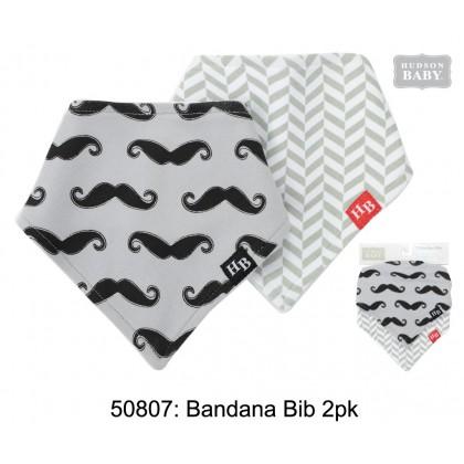 Hudson Baby Bandana Bib 2pk 50807
