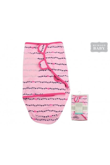 Hudson Baby Interlock Swaddle Wrap - 51282