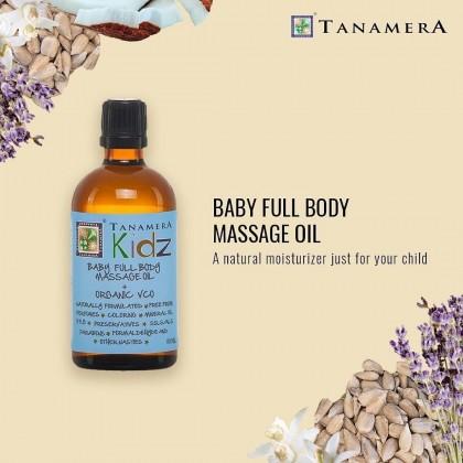 Tanamera Baby Full Body Massage Oil 100ml Organic VCO