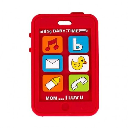 Silli Chews Baby Teether - Baby Phone