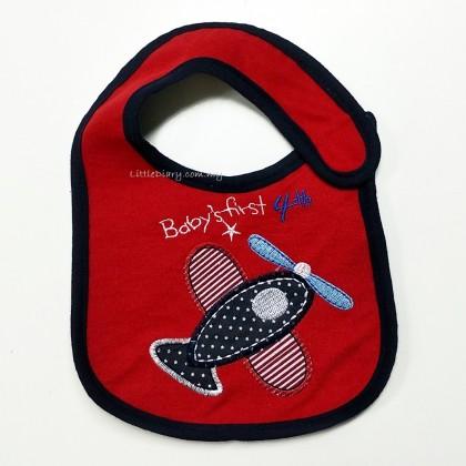 Baby Cotton Waterproof BIB - Plane