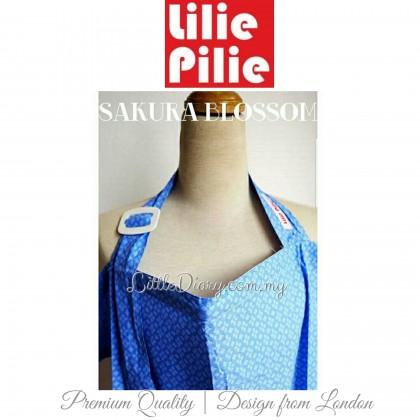 Lilie Pilie Nursing Apron Cover - Sakura Blossom