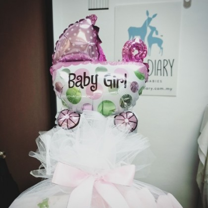 Gift Foil Balloon for Baby Girl or Boy (1unit)