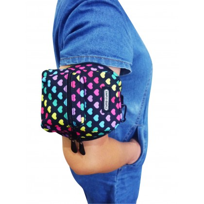 Simple Dimple Hipster Keepster Accessories Pouch - Girl
