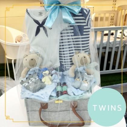 Baby Hamper Gift Set - J80 for Twins Boy
