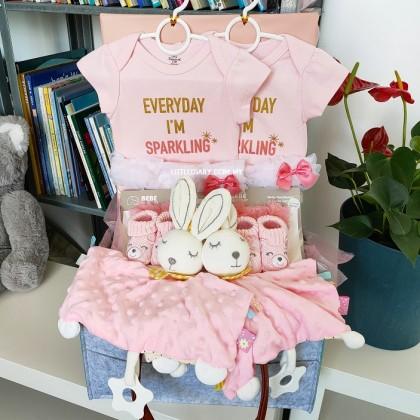 Baby Hamper Gift Set - J82 for Twins Girl