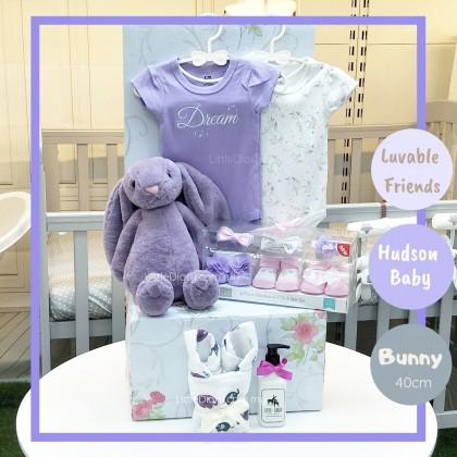 Baby Hamper Gift Set - R165 (Purple Dream)