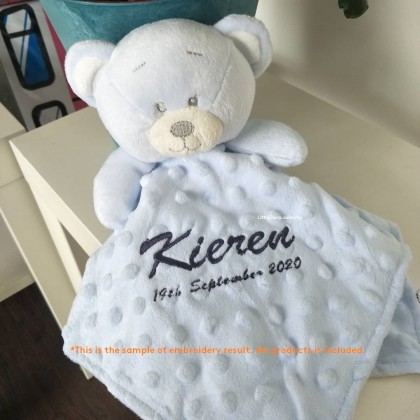 Personalized Name Embroidery Service (Service Charge, No product)