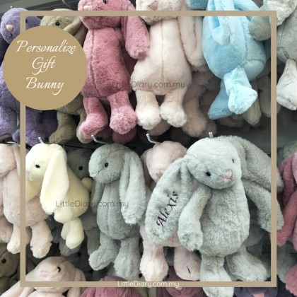 Personalize Bunny Soft Toy