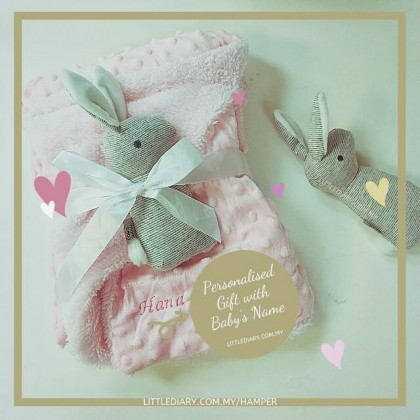 Personalize Baby Blanket -PN81