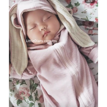 Bunny Baby hooded Jumpsuit BJ01