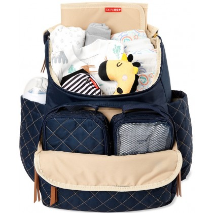 Skip Hop Forma Pack and Go Diaper Backpack - Navy