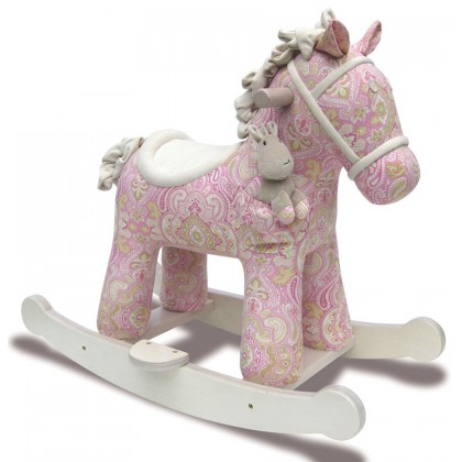 Little Bird Told Me Rocking Horse - LB3022 Pixie & Fluff for 9 Months Up