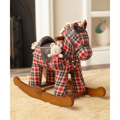 Little Bird Told Me Rocking Horse - LB3070 Winston & Red for 9 Months Up