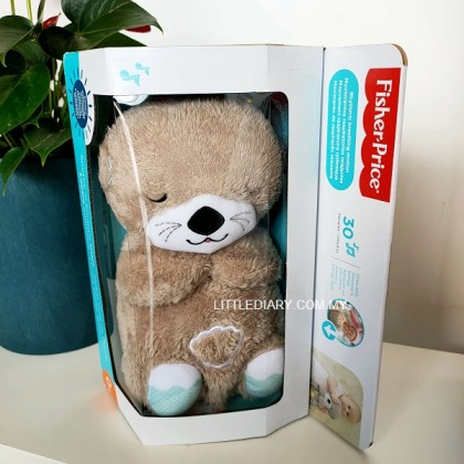 Fisher-Price Soothe 'n Snuggle Otter with Rhythmic Breathing Motions