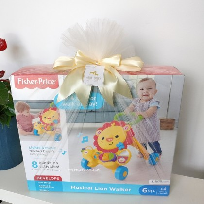 Fisher-Price Musical Infant Lion Walker