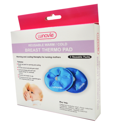 Lunavie Breast Thermo Pad 2 IN 1 (2pcs)