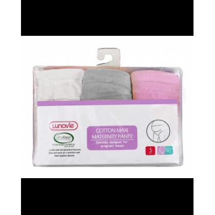 Lunavie Cotton Maxi Maternity Panty (3PCS)