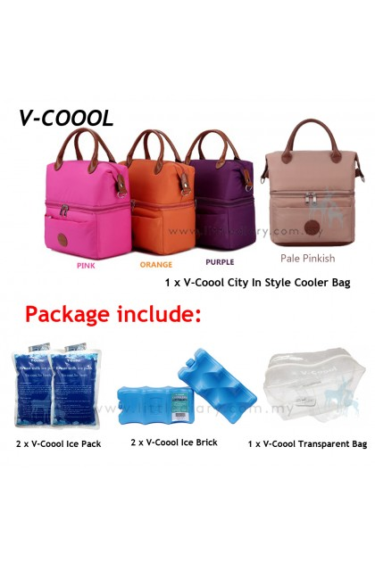 V-coool City In Style Cooler Bag Package